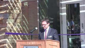 Rollins Campus Center Ribbon-Cutting Ceremonies