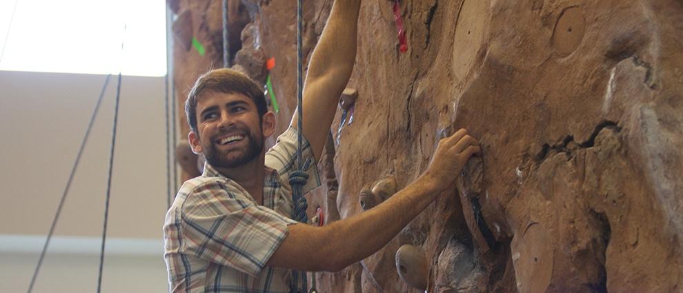 rock climber indoor