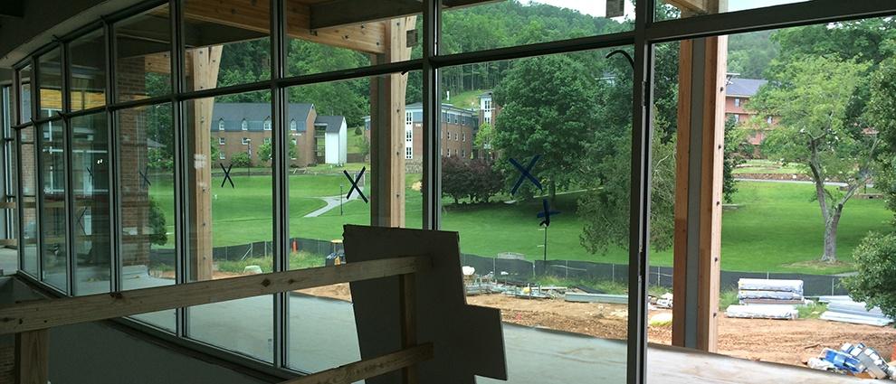 growth campus center porch