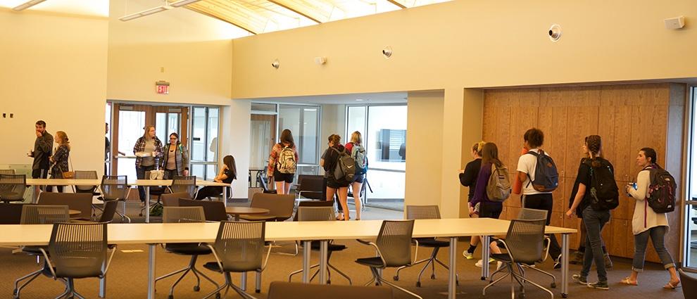 rollins campus center inside room