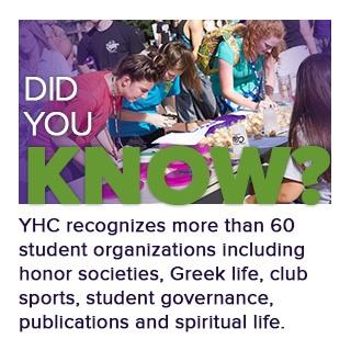 yhc student organizations info